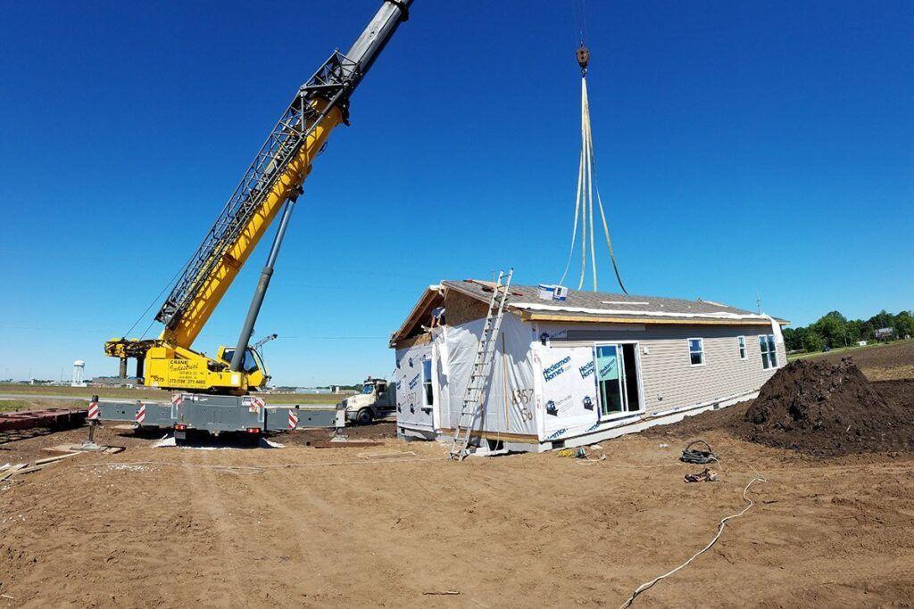prefabricated home Next Modular Goshen IN