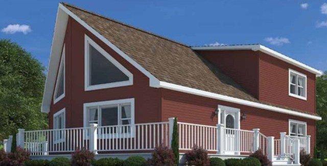 Next Modular Cape Cod style modular home