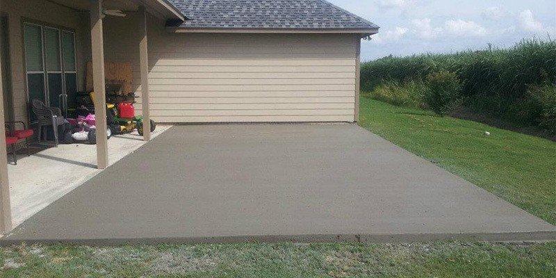Concrete Patio Next Modular