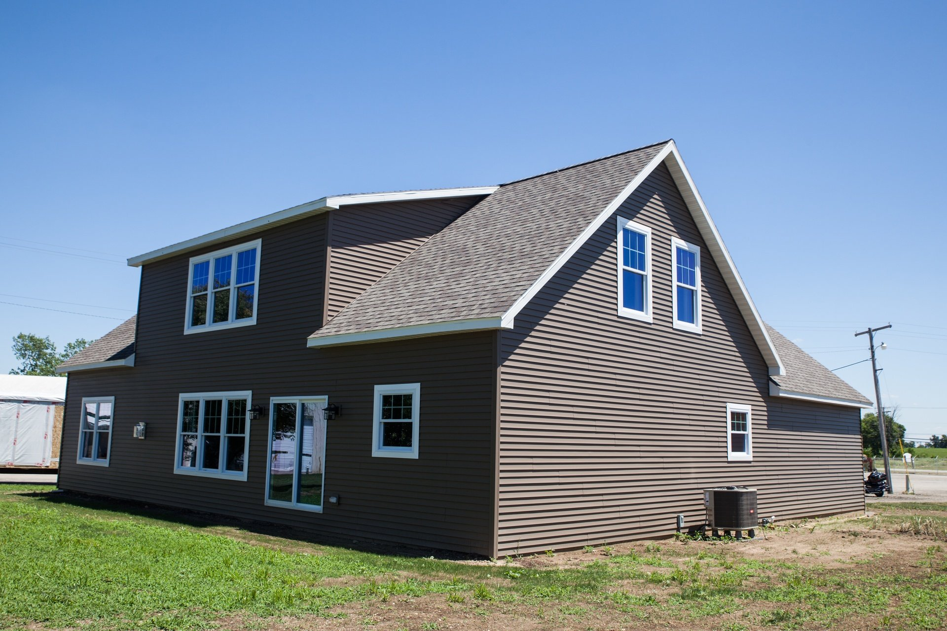 Craftsman cape cod modular home 2 524 sf 3 bed 2 1 2 for Craftsman cape cod