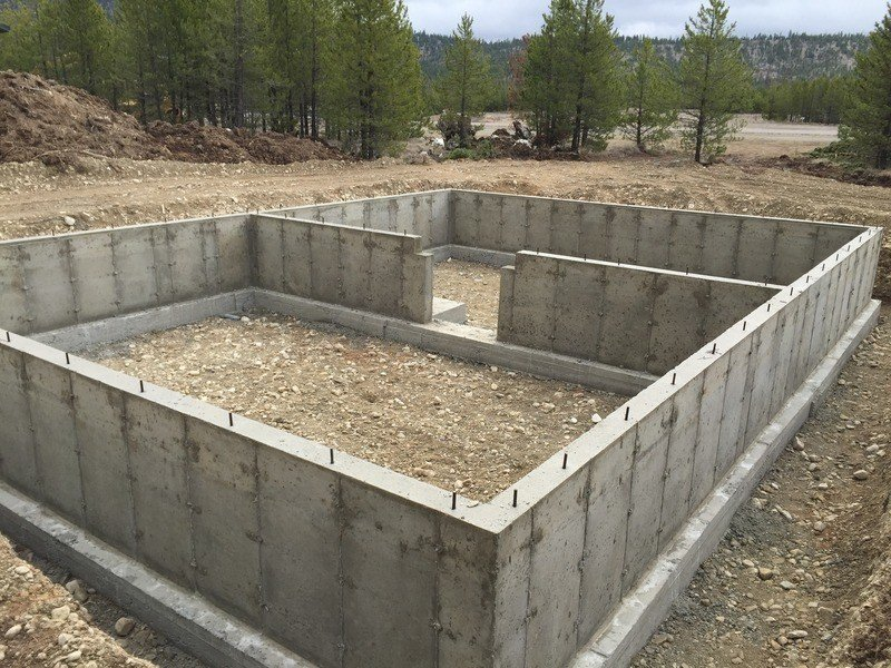 Crawlspace foundation next modular for Cost of poured concrete foundation walls