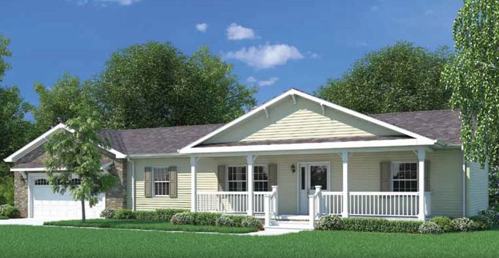 Constitution ranch modular home 1 152 sf 3 bed 2 bath for 3 bed 2 bath modular home