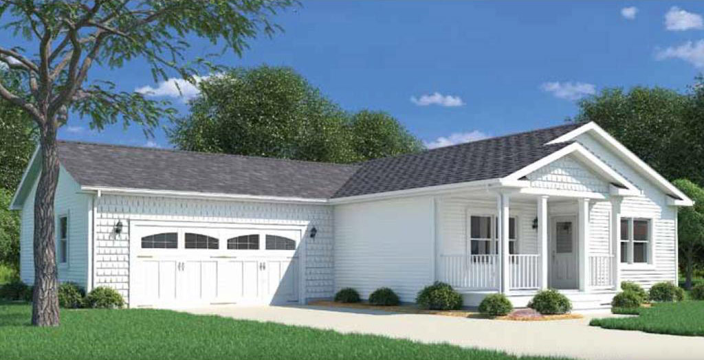 Delaware ranch modular home 1 400 sf 3 bed 2 bath for 3 bed 2 bath modular home