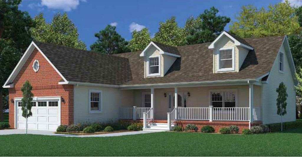 Gloucester cape cod modular home 1 568 sf 1 bed 2 bath - Average price of a modular home ...