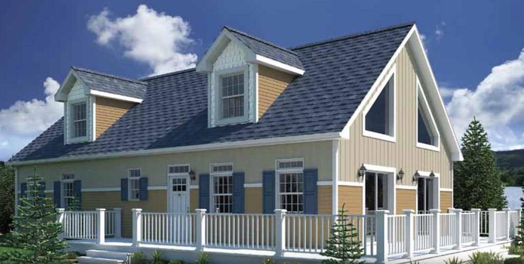 Lakeside Cape Cod Modular Home 1 400 Sf 2 Bed 2 Bath