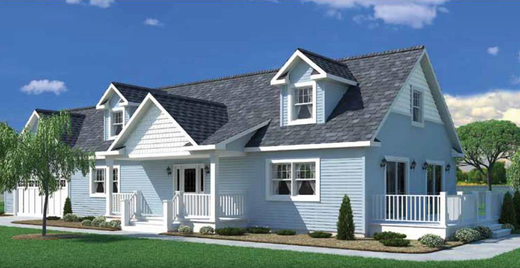 Lakeview Cape Cod Modular Home u2013 1344