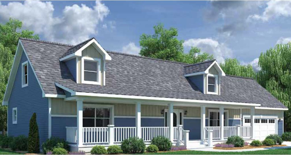 Providence 52 cape cod modular home 1 456 sf 2 bed 2 for Modular cape cod homes