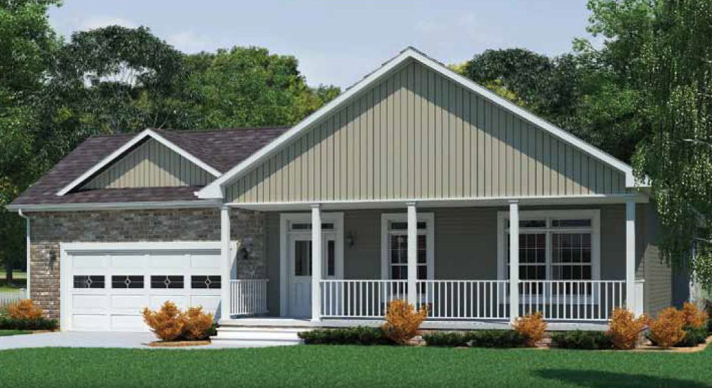 Kentucky Ranch Modular Home - 1,740 SF - 3 Bed 2 Bath - Next Modular