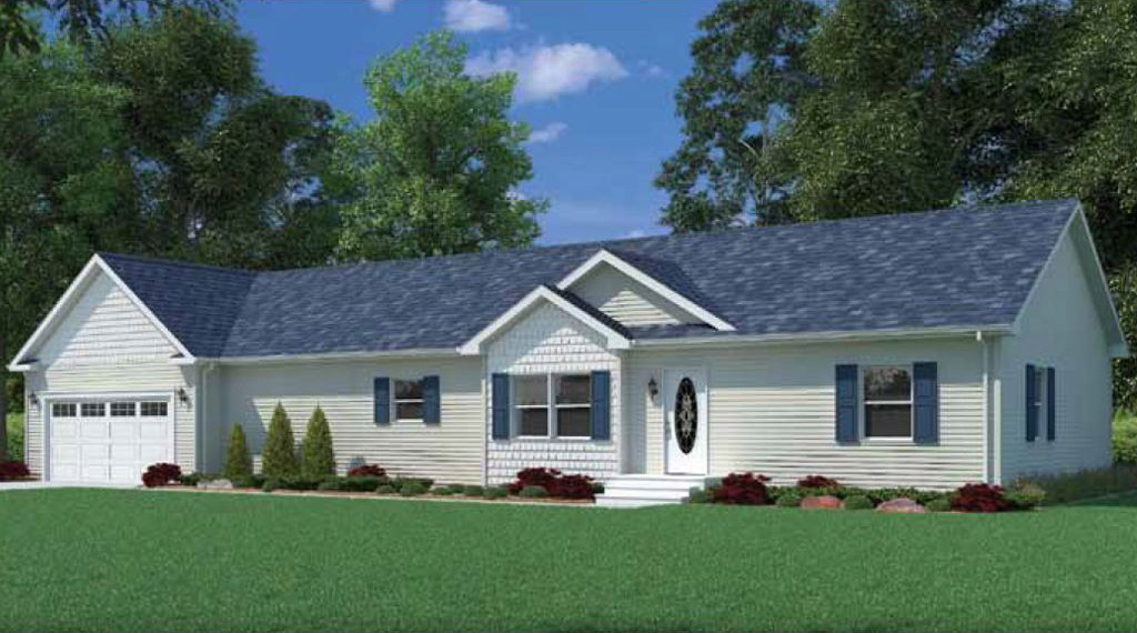 Woodbridge ranch modular home 1 736 sf 3 bed 2 bath for 3 bed 2 bath modular home