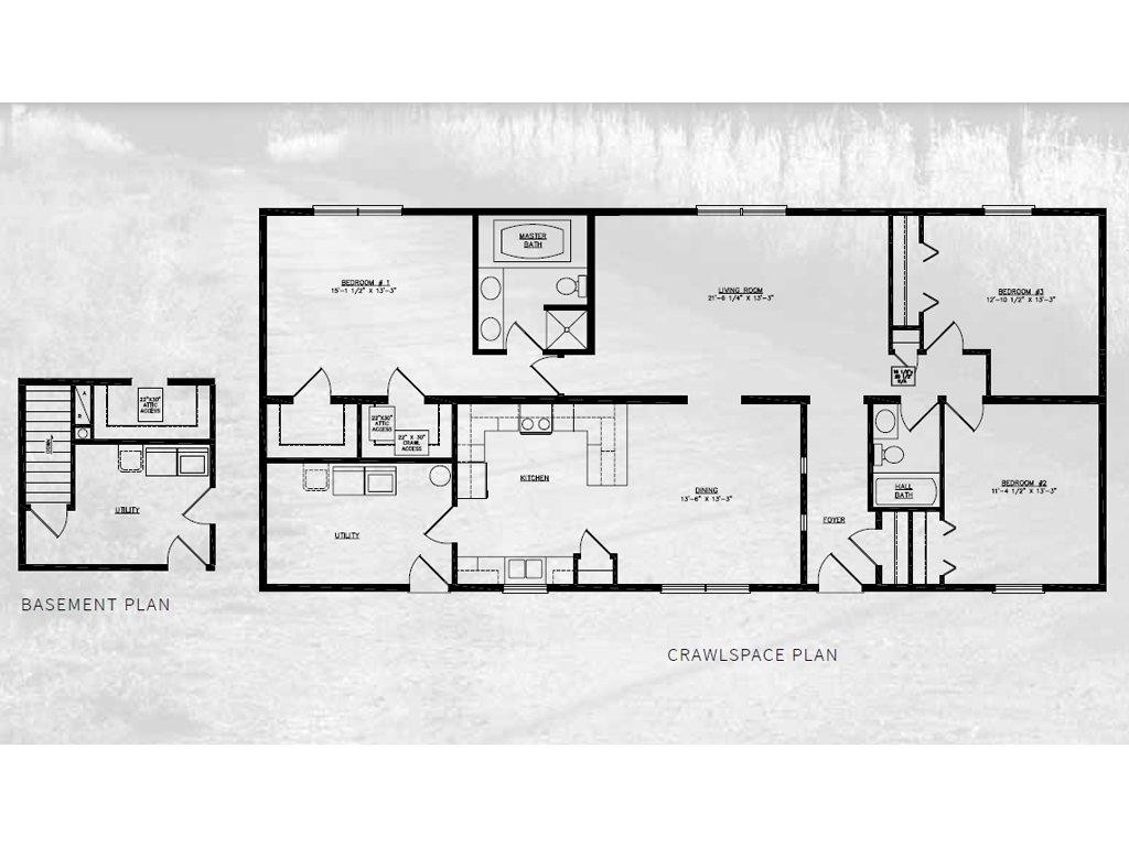 Woodbridge Ranch Modular Home 1 736 Sf 3 Bed 2 Bath