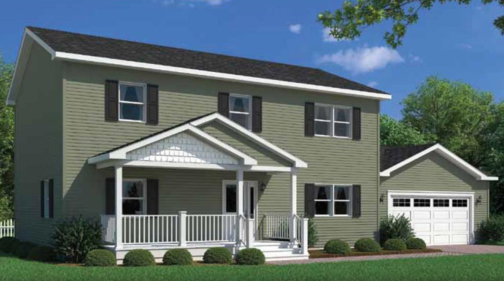 Jefferson two story modular home 2 240 sf 4 bed 2 1 2 for 2 story house price