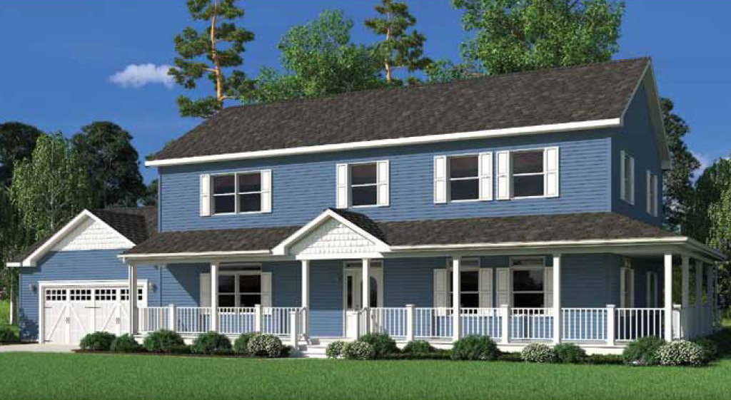 Jefferson iii two story modular home 2 800 sf 4 bed 2 for 2 story house price