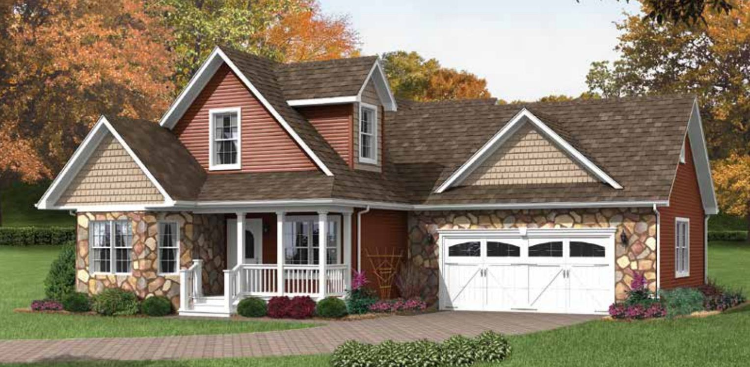 Royal Cottage Cape Cod Modular Home 2 253 Sf 3 Bed 3
