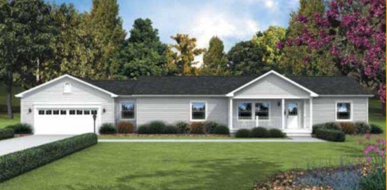 ranch-style modular home Next Modular Goshen IN