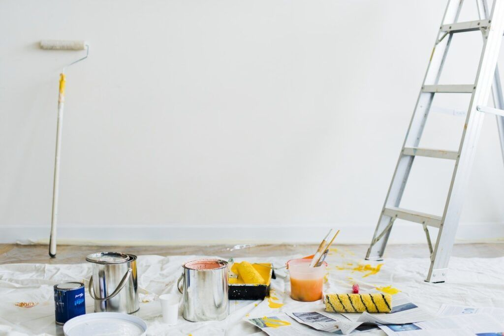 painting a modular home