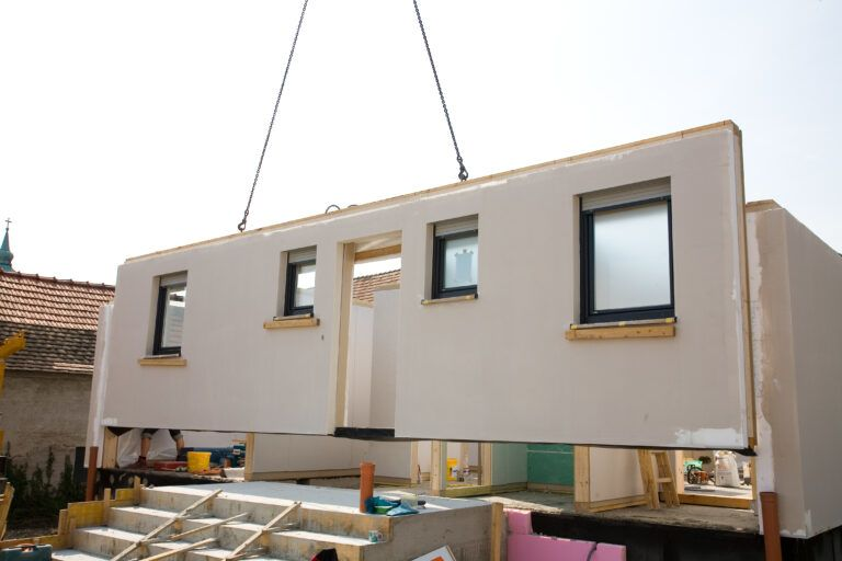 modular home assembly